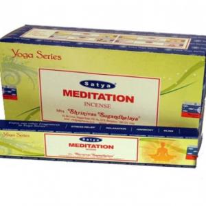 Räucherstäbchen Satya Meditation