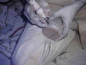 Information zur Specksteinherstellung