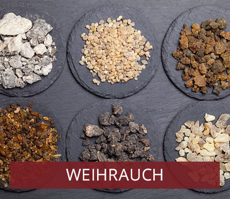 Weihrauch Sortiment - von Al-Hojari bis Klösterweihrauh
