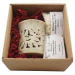 Geschenkset braun Blume DSC06163-1000
